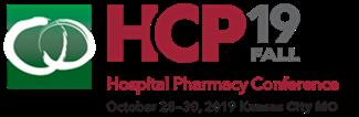 2019 Fall Hospital Pharmacy Conference